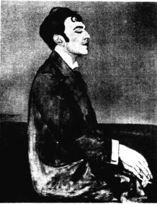 «Там — я любить не мог, Здесь я любить боюсь.» Анна Зельманова-Чудовская. Портрет Осина Мандельштама (1914)