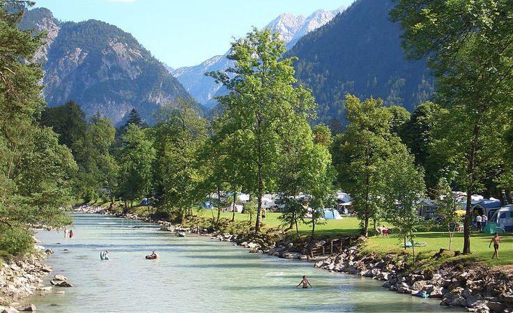 Zomercamping Grubhof in Lofer, Oostenrijk