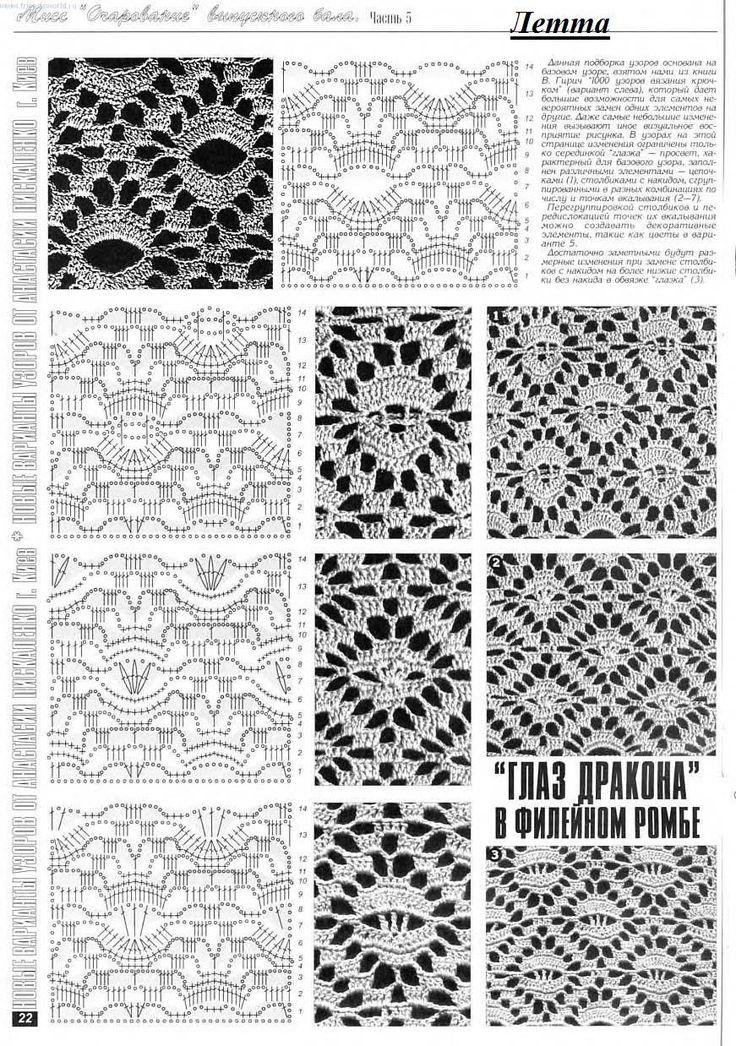 SANDRA PONTOS DE CROCHÊ E TRICÔ.....        ♪ ♪ ... #inspiration #crochet  #knit #diy GB  http://www.pinterest.com/gigibrazil/boards/