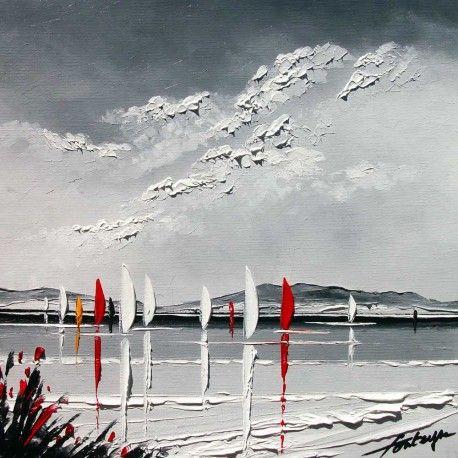 1000 id es sur le th me peintures acryliques sur pinterest cours de peintur - Tableaux modernes colores ...
