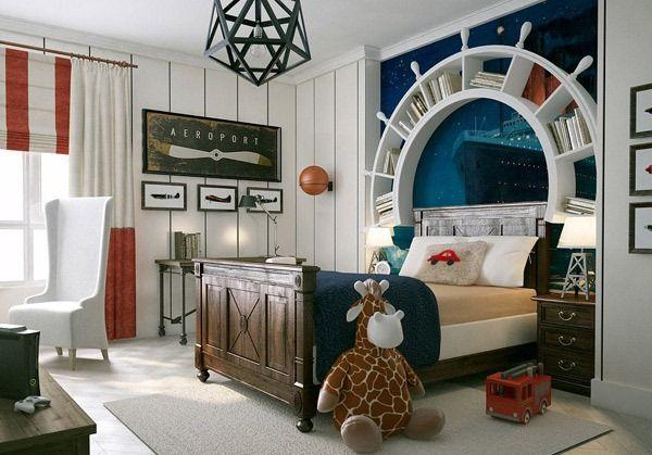 Kamar Tidur Anak Laki-laki yang Unik.jpg (600×419)