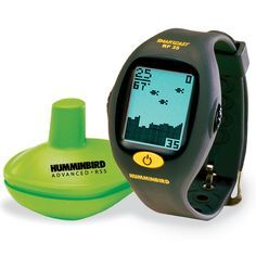 fish finder wrist strap....could be a handy gadget, but I really would want to get this for my brother. . . he loves fishing.