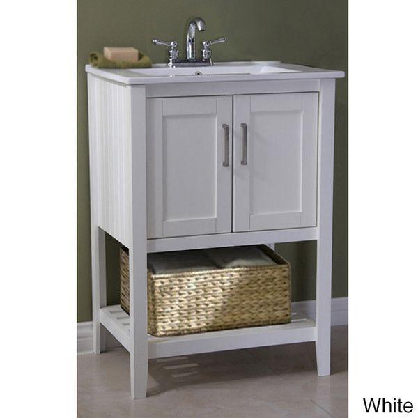 1000 ideas about grey bathroom vanity on pinterest grey - 24 inch farmhouse bathroom vanity ...