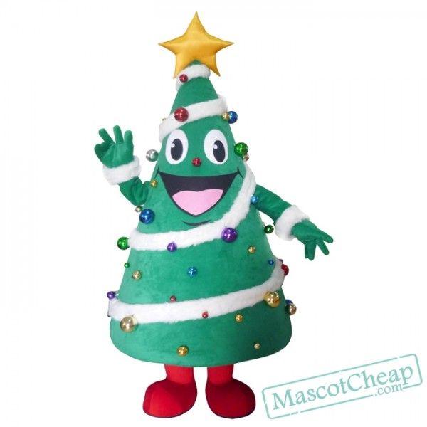 Christmas Tree Mascot Costume Free Shipping Mascot Costumes Cartoon Mascot Costumes Mascot