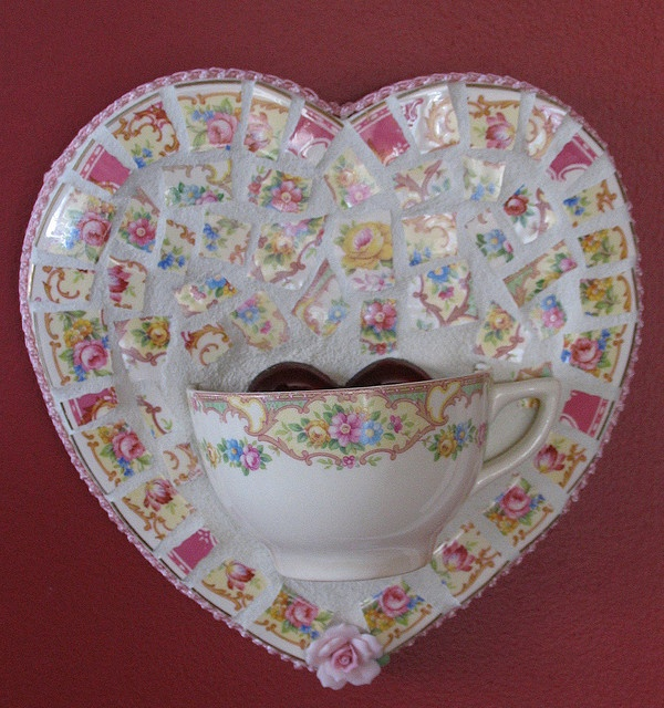 Heart-teacup-yellow by teacup mosaics, via Flickr