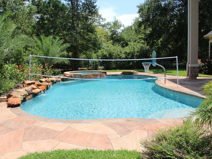 Natural Free Form Swimming Pools Design 239 Custom