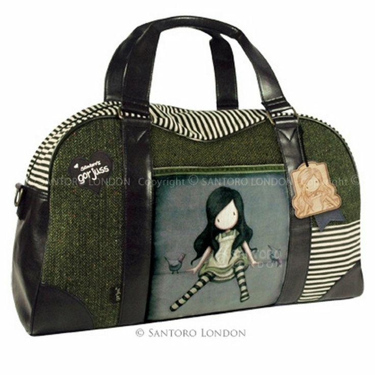 GORJUSS WEEKEND BAG ON TOP OF THE WORLD: Amazon.co.uk: Clothing