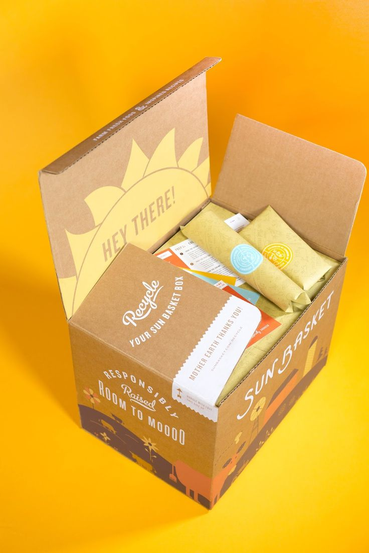 Sun Basket on Packaging of the World - Creative Package Design Gallery