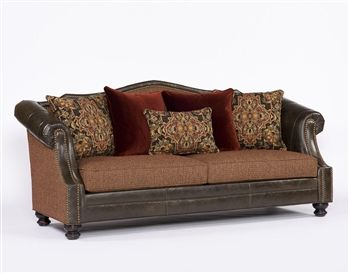 Serena Sofa   Roughing It In Style #Traditional #RusticElegance