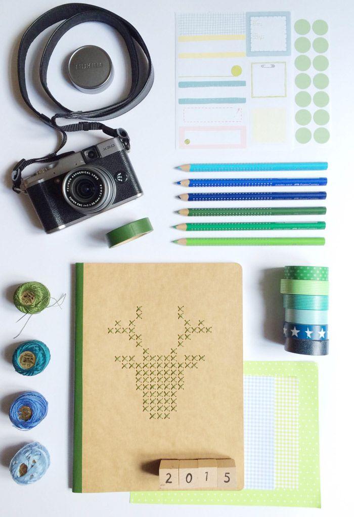 DIY paper embroidery | La Trastienda de Liderlamp by Susana Mera