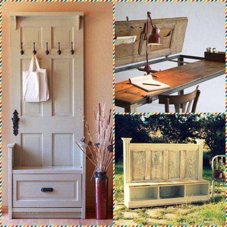 Новое будущее для старой двери - Ярмарка Мастеров - ручная работа, handmade