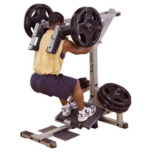 Body Solid Leverage Squat Calf Machine New Gscl360 Heavy Gauge  New!!! #BodySolid