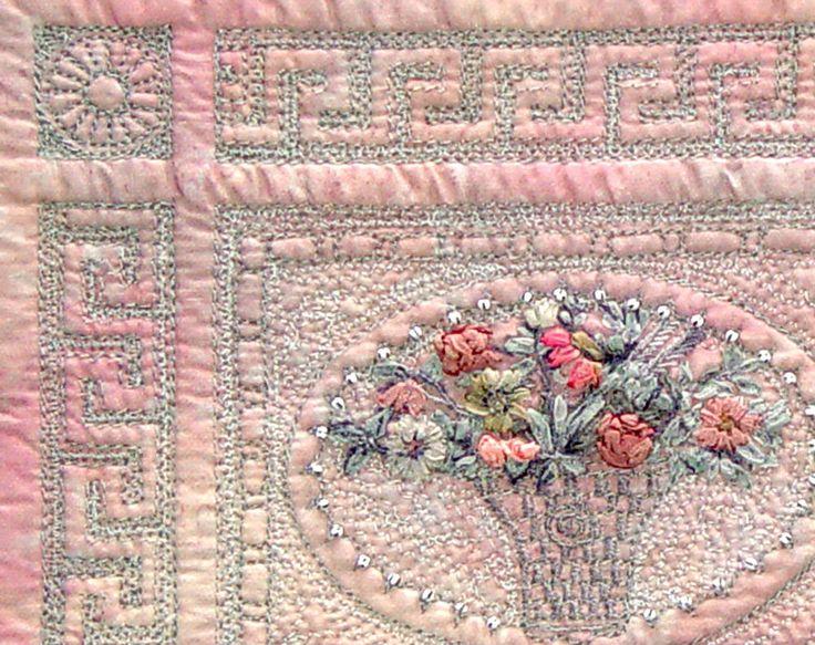 Bozena Wojtaszek art quilt, detail