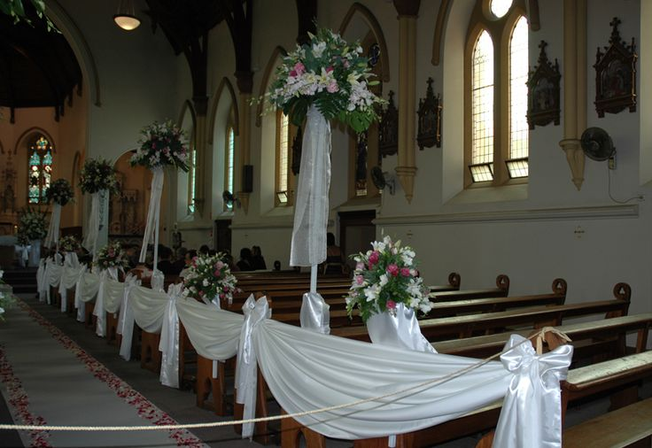 Wedding Ceremony Decorations Adelaide : Adelaide church floral decorations houseofthebride com au