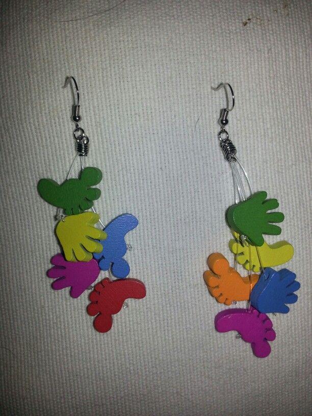 ♥ my new earrings.