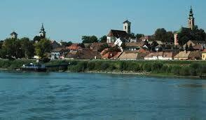 Szentendre viewed from Danube