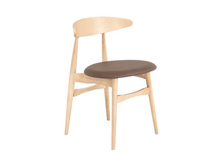 JILL Stol Natur/Brun i gruppen Innendørs / Stoler / Spisestuestoler hos Furniturebox (100-83-97003)