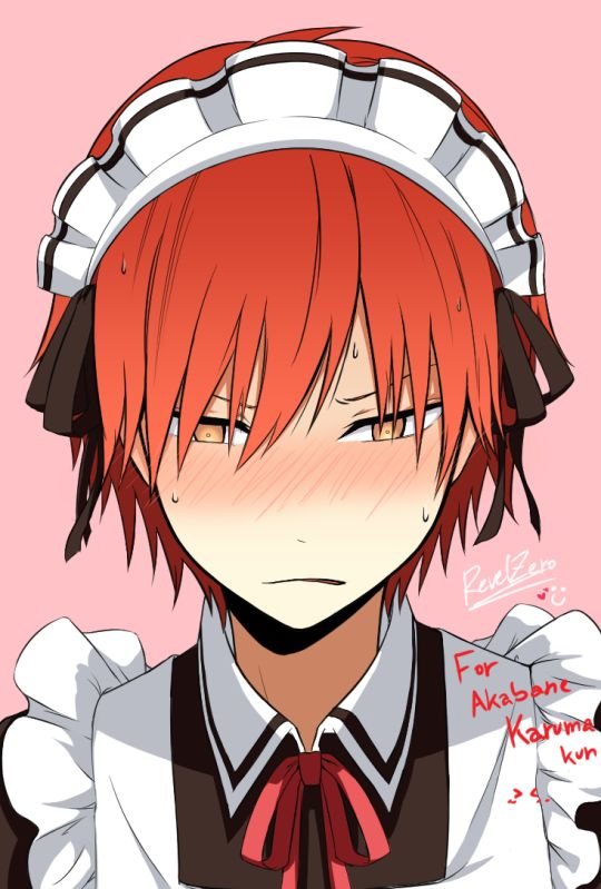 Karma Assassination Classroom | Nagisa is not the only one who looks good crossdressing :3