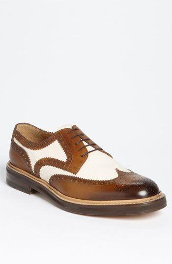 1920s Style Mens Shoes-    Gucci 'Eyck' Spectator Shoe- Fancy 1920's Shoes for Sale $458.94  #mens #shoe #1920s