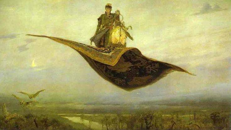 Victor Vasnetsov. Il tappeto volante