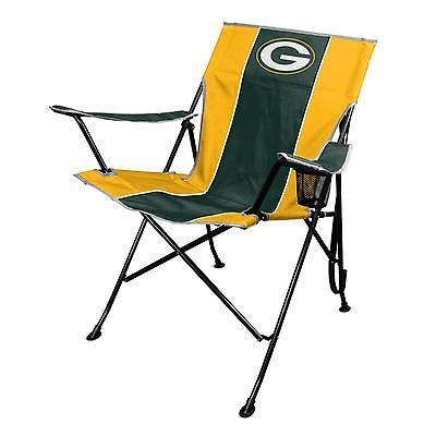 Tailgating Chair Green Bay Packers Carrying Bag Folding Outdoor Watching Games