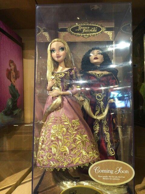 Dolls in box
