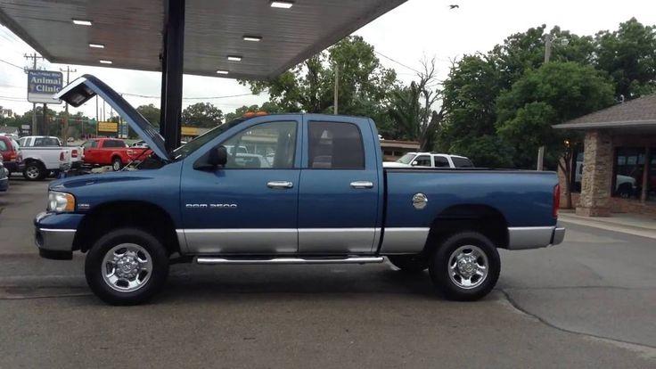 Used Truck Dealership OKC 2004 Dodge Ram 2500 Laramie Quad Cab Long Bed ...