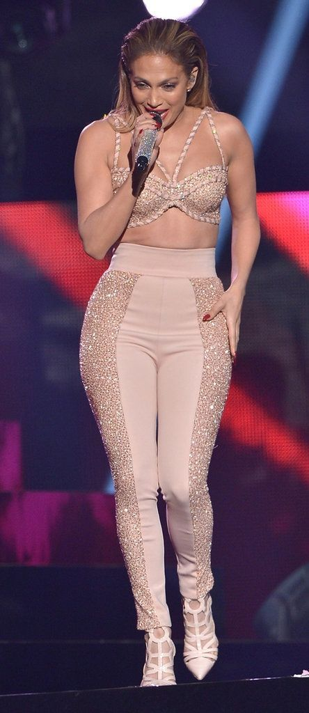 Jennifer Lopez Selena Tribute Outfit