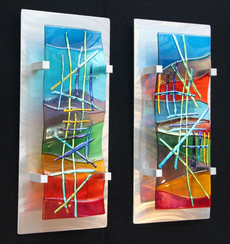 Wall Art Fused Glass : Ideas about glass wall art on fused