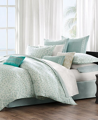 Macy's Echo Bedding, Mykonos Comforter Sets