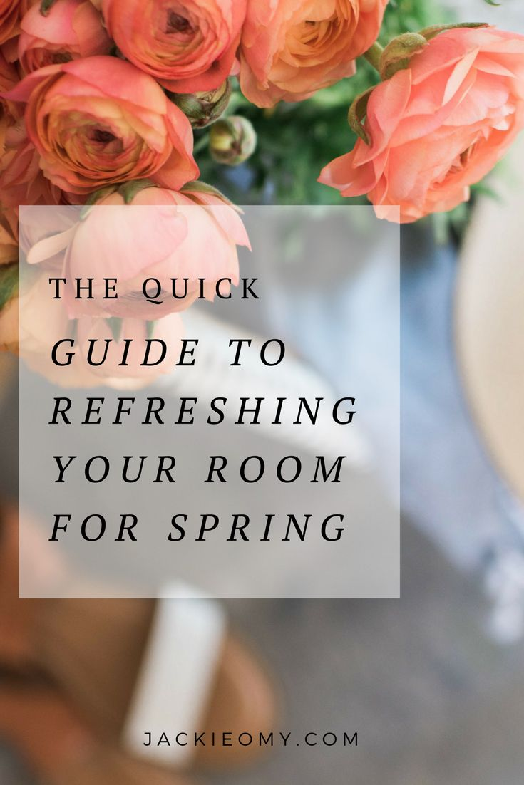 The Quick Guide To Refreshing Your Bedroom For Spring
