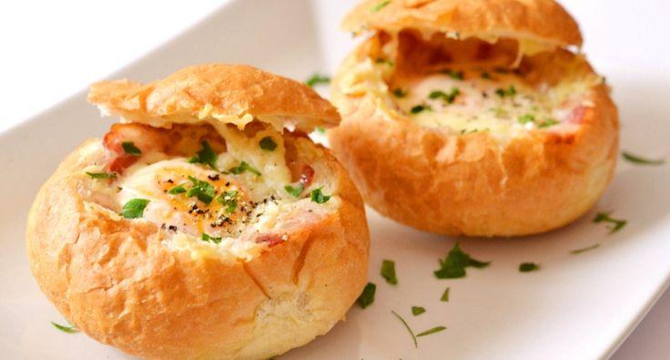 Reggeli tojásos-baconos zsemle recept | APRÓSÉF.HU - receptek képekkel