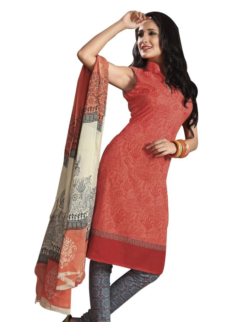 Pure #Cotton #Stitched Suits From EthnicQueen. Free Shipping * Easy Returns * Cash on Delivery!!!  Shop Here: http://bit.ly/1Ij1Mj8