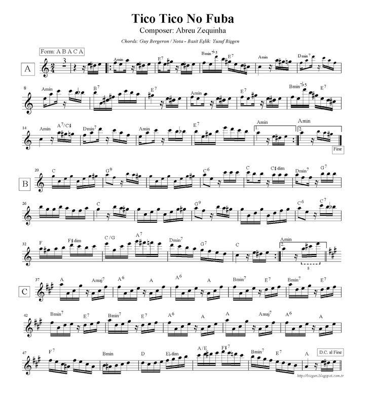 29 Best Flute Score Nota Images On Pinterest Flute Guitar Chord