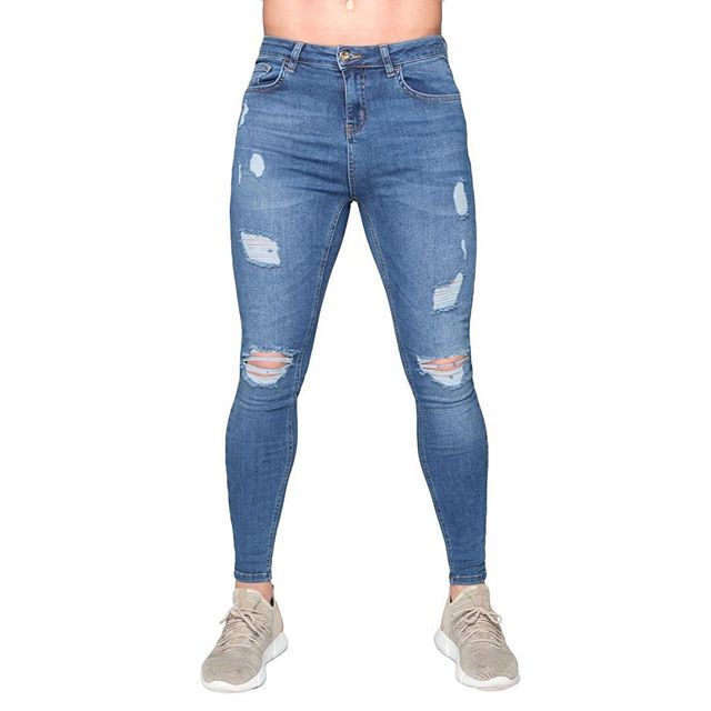 FINALLY BACK IN STOCK!! Dark Blue - Ripped and repaired 🔥🔥 visit www.nimes.co.uk to cop yours now while stock lasts! #NimesLtd #TeamNimes #Denim #RippedJeans #Fashion #Style
