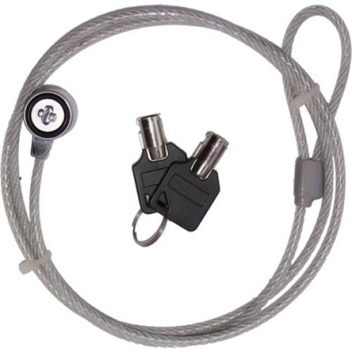 Cable con candado de Llave #computo #tecnologia #candado #computadora #seguridad #laptop #proyector #puertodevideo #techzone