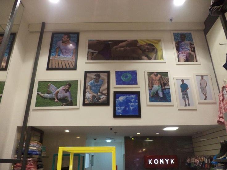 Painéis Loja Konyk Shopping Vitoria ES