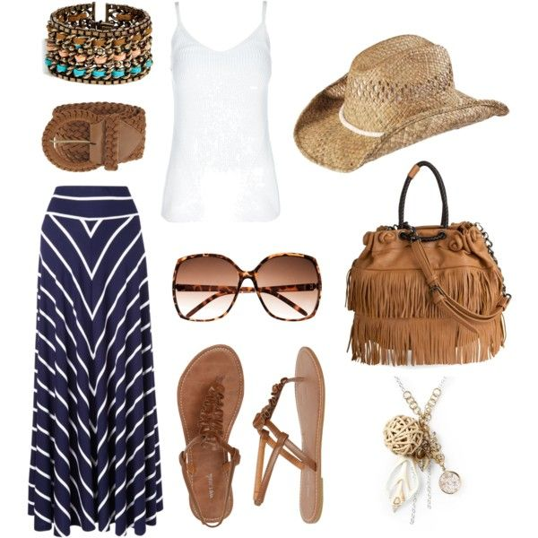 southern style, created by melllapps: Fashion, Southern Style, Summer Outfit, Clothes, Summer Style, Beach