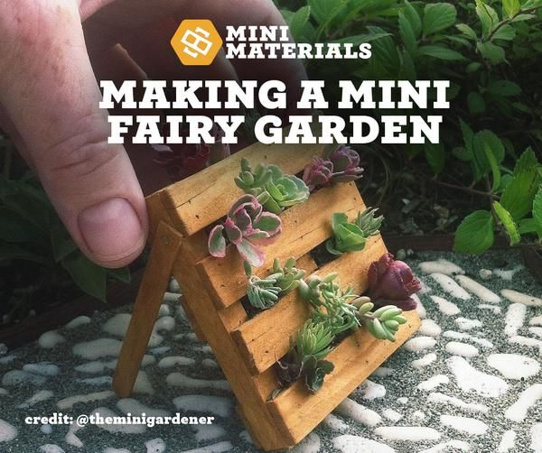 What is a fairy garden? A fairy garden is a mini garden with realistic looking pieces and live plants. When it comes to realistic looking miniature construction