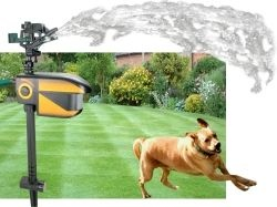 Hydroblast Scarecrow - Motion-activated sprinkler deters pests and animals from your yard, garden, etc.