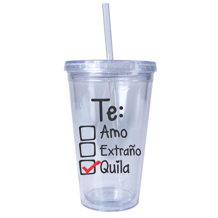 Vaso con popote para salir de Fiesta disponible en www.coconut.com.mx Síguenos en Facebook https://www.facebook.com/Coconut-Store-MX-468924663309231/
