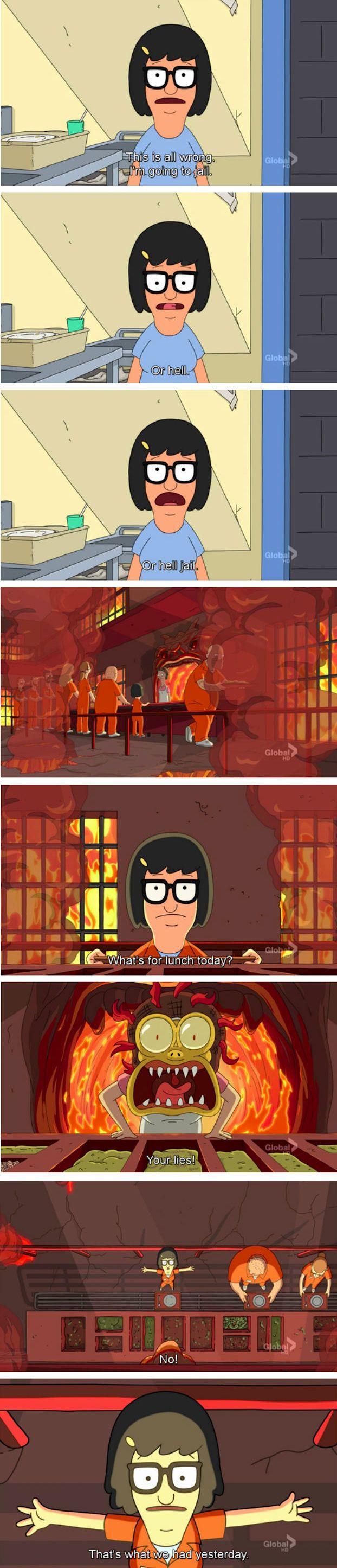 Bob's Burgers (Tina's Hell)