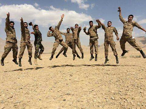 Military excitement