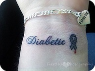 1000 ideas about diabetes tattoo on pinterest diabetes for Diabetic color changing tattoo ink
