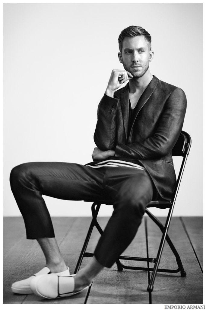 Calvin Harris Fronts Emporio Armani Spring/Summer 2015 Campaign
