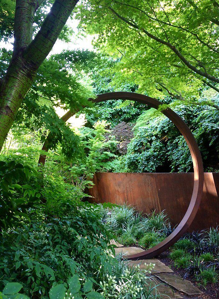 Cor-Ten steel adds life to gardens - San Francisco Chronicle