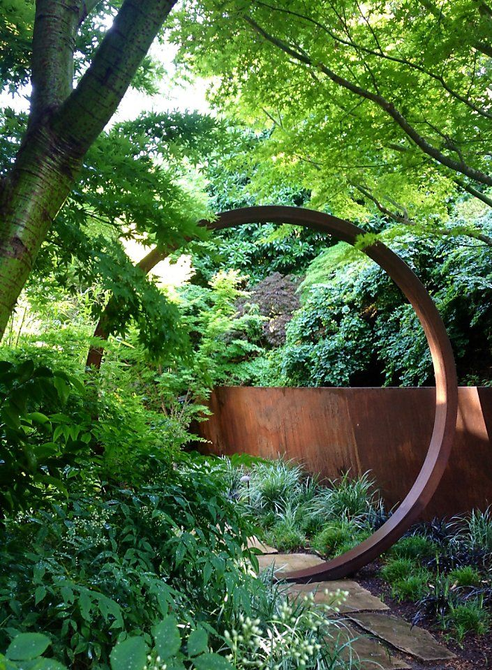 Cor-Ten steel adds life to gardens - San Francisco Chronicle