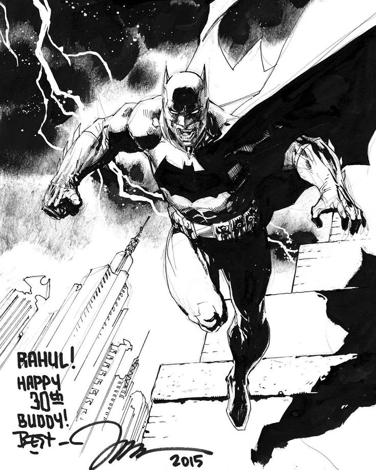 Jim Lee Batman Europa