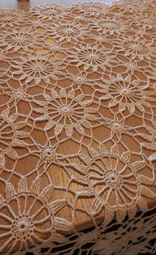 Ravellry Vintage Tablecloth