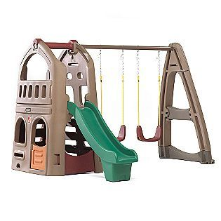 Step 2 Naturally Playful Playhouse Climber and Swing Extension - Toys & Games - Outdoor Play - Outdoor Playsets & Accessories